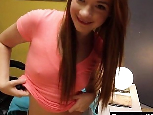Webcam Show With Incredible Young RedheadHD