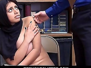 Muslim Teen Big Natural Tits Ella Knox Caught..