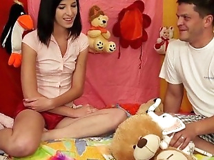 TeenyPlayground Teen facial and fucking from..