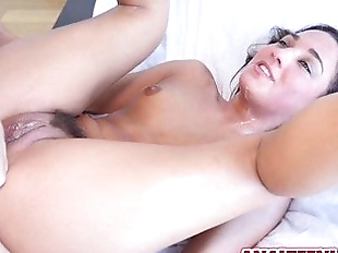 Teen Amara Romani gets anal fucked hard and true..