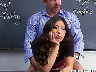 Handsome Instructor Humps Naughty Girl - 8 min