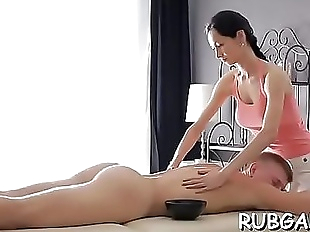 Hand job massage 5 min