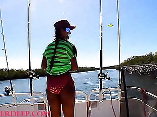 HD Tiny Asian Thai Heather Deep goes fishing and..